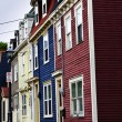 Colorful houses in St. John's — Stock Photo #4482791