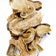 Dry porcini mushrooms - Stock Photo