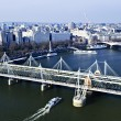 Stock Photo: Hungerford Bridge seen from London Eye