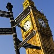 Big Ben clock tower - Stock Photo
