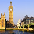 Royalty-Free Stock Photo: Big Ben and Westminster bridge