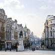 Charing Cross in London - Stock Photo
