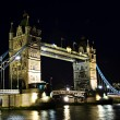 Stock Photo: Tower bridge in London at night