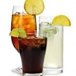 Soft drinks — Stock Photo