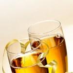 Champagne glasses — Stock Photo #4483384