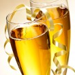Champagne glasses — Stock Photo #4483392
