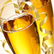 Champagne glasses - Stock Photo