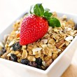 Breakfast granola cereal — Stock Photo