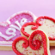 Valentines cookies — Stock Photo #4483415