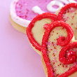 Valentines cookies — Stock Photo