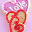 Valentines cookies — Stock Photo #4483417