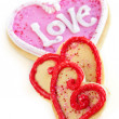 Valentines cookies — Stock Photo #4483418