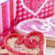 Valentines cookies — Stock Photo #4483430