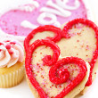 Valentines cookies - Foto Stock