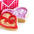 Valentines cookies - Stock Photo