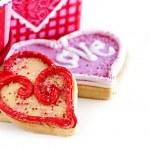 Valentines cookies — Stock Photo