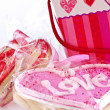 Valentines cookies — Stock Photo #4483438