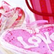 Valentines cookies - Stock fotografie