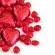 Valentine candy — Stock Photo