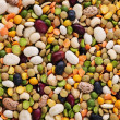 Royalty-Free Stock Photo: Dry beans and peas