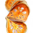 Dried bael fruit - Stock Photo