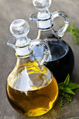 Oil and vinegar — Stock Photo