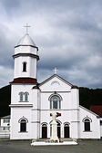Sacred Heart Church in Placentia — Stock Photo