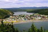 Town of Placentia in Newfoundland — Stock Photo