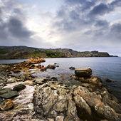 Atlantic coast in Newfoundland — Stock Photo
