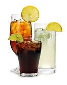 Nealkoholické nápoje — Stock fotografie