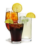 Soft drinks — Stock Photo