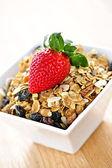 Breakfast granola cereal — Stock Photo