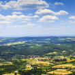 Serbian countryside — Stock Photo