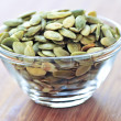 Pumpkin seeds — Stock Photo #4493997