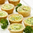 Mini quiches — Stock fotografie