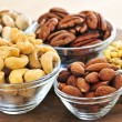 Bowls of nuts — Stock Photo #4494406