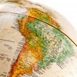 Globe - South America — Stock Photo