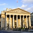 Royal Exchange building in London - Stock Photo