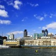 London skyline from Thames river — Stock Photo #4494725