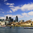 Tower of London skyline - 图库照片
