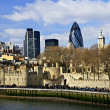 Tower of London skyline — Stock Photo #4494759