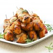 Chicken skewers — Stock Photo #4494966