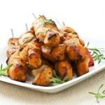 Chicken skewers — Stock Photo #4494966