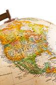 Globe - North America — Stock Photo