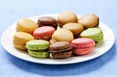 Macaroon cookies — Stock Photo