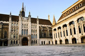 Guildhall building and Art Gallery — Stock Photo