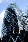 Gherkin building in London — Stock Photo