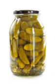 Jars of pickles — Stock Photo