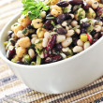 Bean salad — Stock Photo #4518066