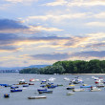 River boats on Danube — Stock Photo #4518139